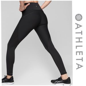 Athleta stealth black leggings size M